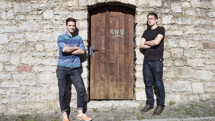 Reto Bürgin und Silvio Suter sind begeistert von der Dynamik der Stadt Basel – und haben ihr deshalb eine Homepage gewidmet.