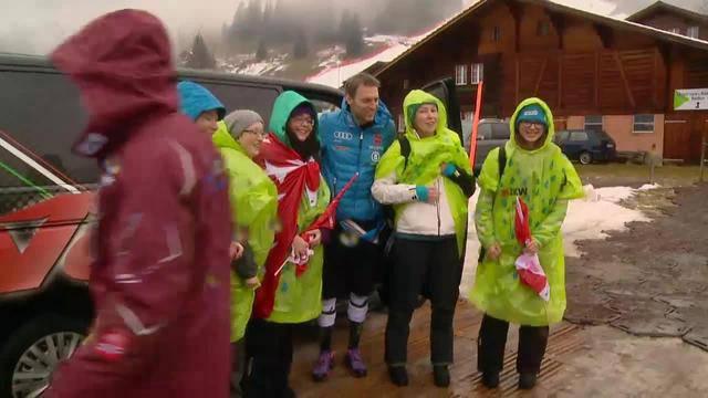 Riesenslalom abgesagt – Ski-Fans lassen sich Laune nicht verderben