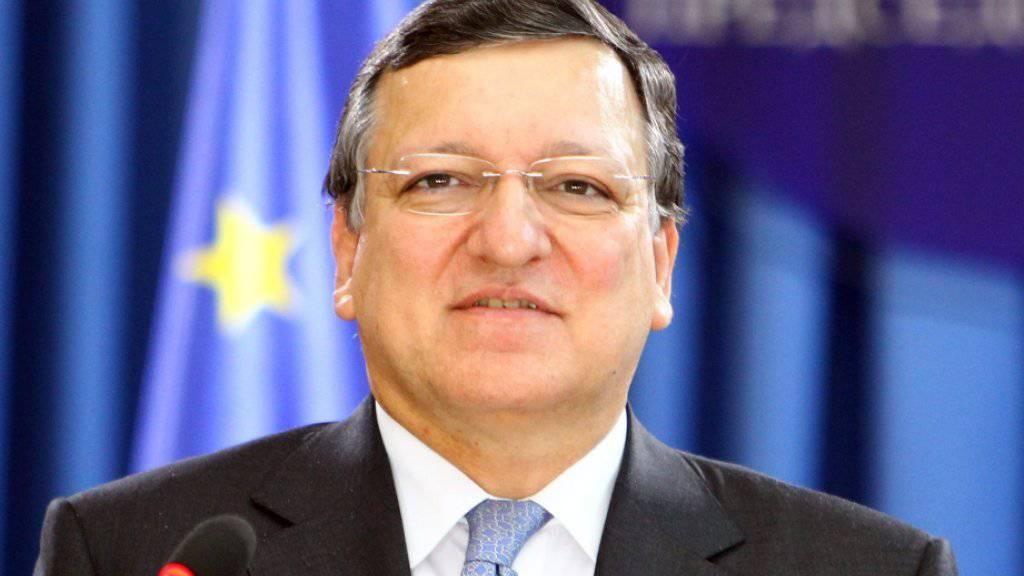 Sein neues Engagement hat José Manuel Barroso viel Kritik eingebracht: Er wechselte nach dem Ende seiner Amtszeit als EU-Kommissionspräsident zur Investmentbank Goldman Sachs. (Archiv)