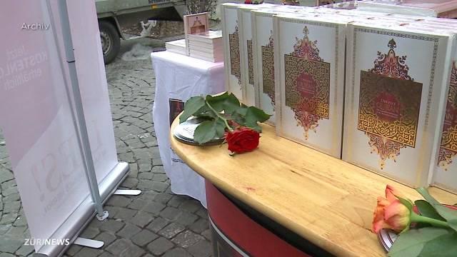 Kanton Zürich stoppt Koran-Verteilaktionen
