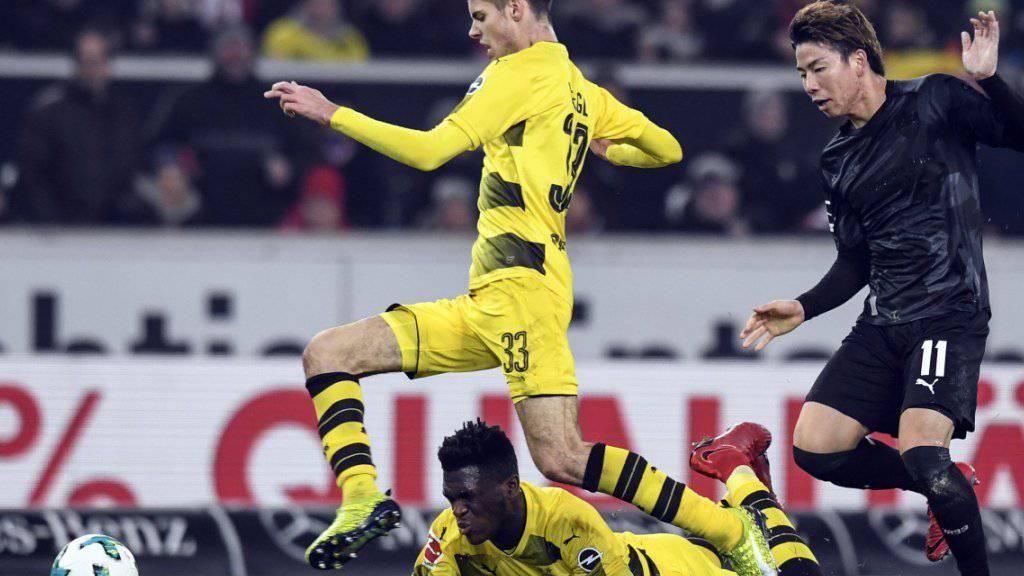 Dortmund muss beim 1:2 in Stuttgart unten durch