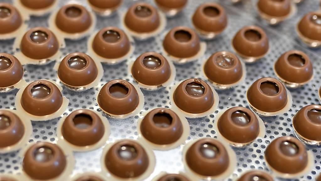 Die Schokoladeverkäufe sind bei Barry Callebaut während der Coronakrise deutlich gesunken. (Archivild)
