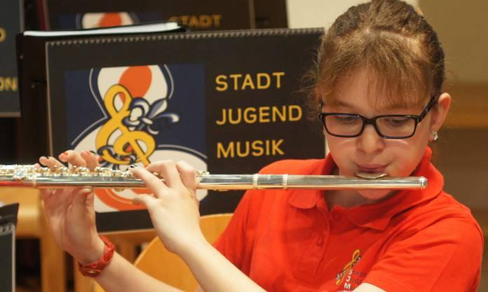 Jahreskonzert der Stadtjugendmusik Dietikon