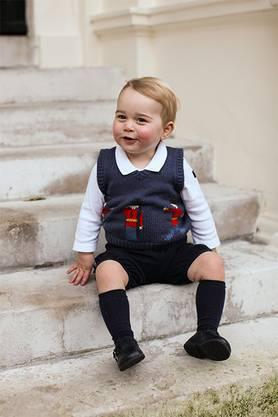 Der kleine Prinz strahlt