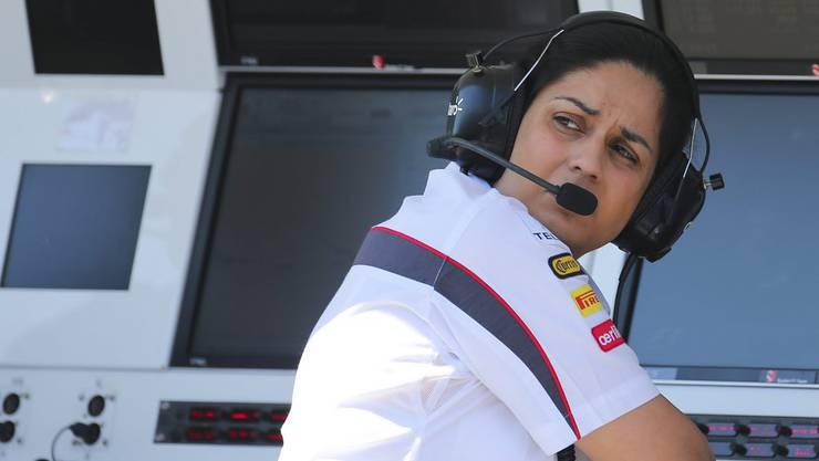 Monisha Kaltenborn wurde am Dienstag bei Sauber entlassen.