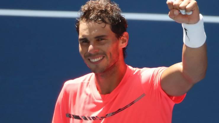 Fast ohne zu schwitzen in den Halbfinal: Rafael Nadal