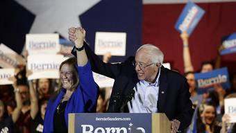 Der linke Präsidentschaftsbewerber Bernie Sanders hat die dritte Vorwahl der Demokraten im US-Bundesstaat Nevada mit grossem Abstand gewonnen. (Archivbild)