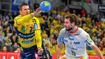 Der Schweizer Handball-Superstar Andy Schmid kommt im Sommer 2019 für ein Testspiel in die Aarauer Schachenhalle.