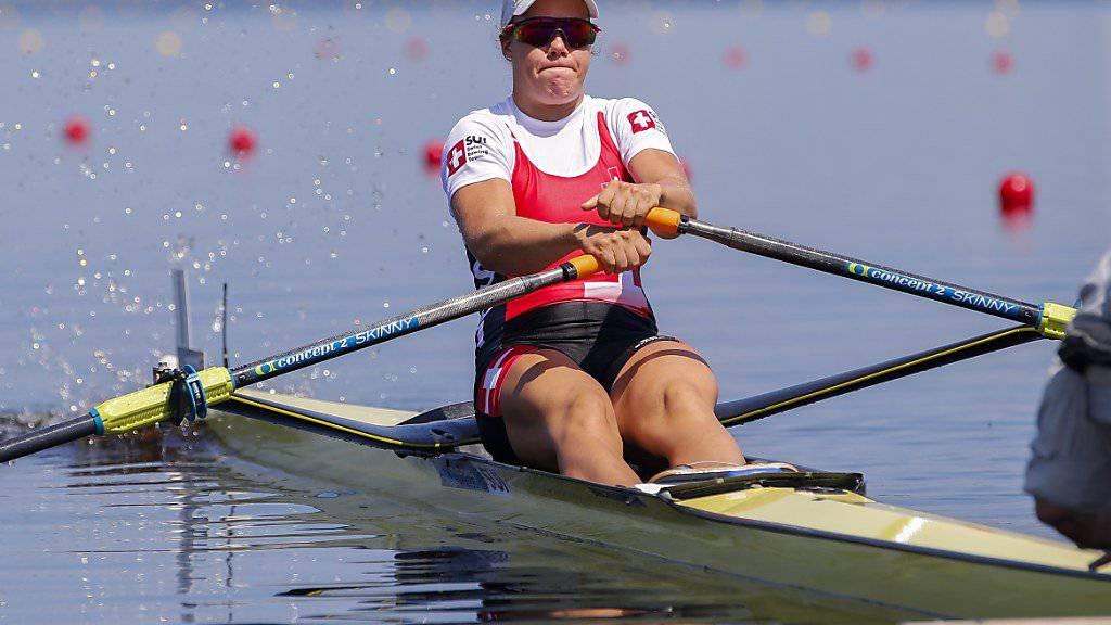 Jeannine Gmelin rudert in Florida zu WM-Gold