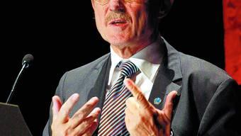 Willi Lemke: Der ehemalige Fussballmanager ist ein grosser Anhänger von Sport als Instrument zur Friedenssicherung. Felix Gerber