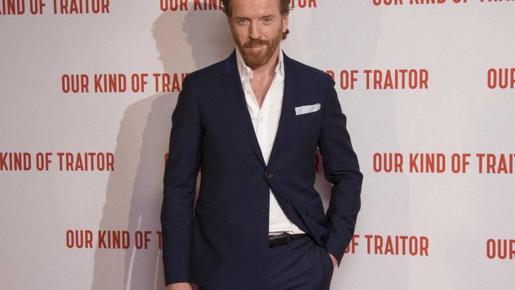 Wird er oder word er nicht der nächste James Bond? Der britische Schauspieler Damian Lewis behält das grosse Geheimnis (noch) für sich. (Archiv)