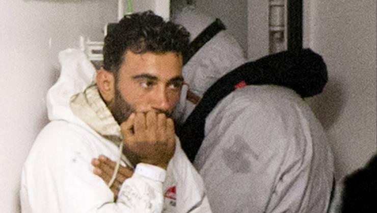 Der Kapitan des Unglücksbootes wurde von der italienischen Polizei festgenommen.