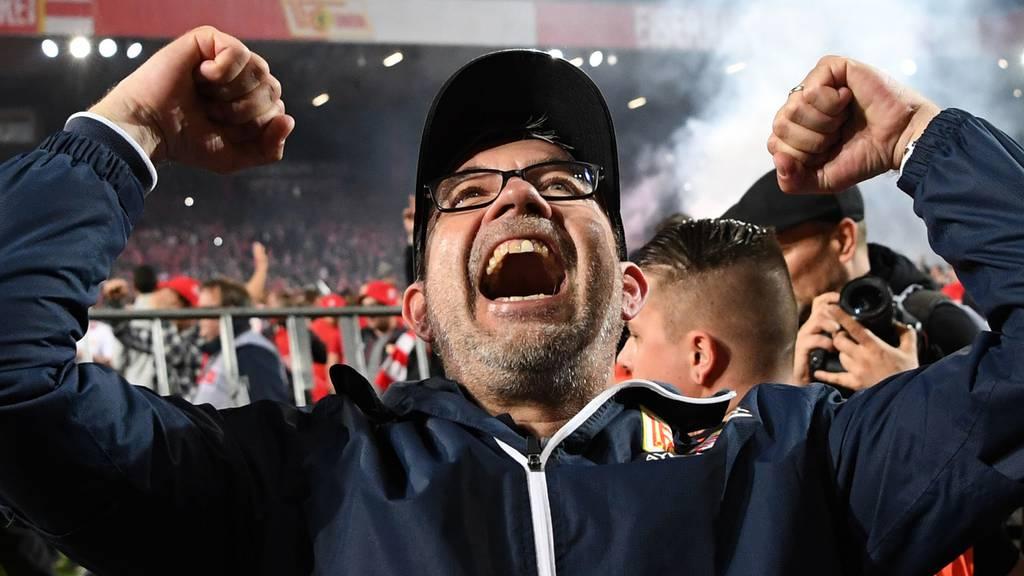 Fussball-Trainer Urs Fischer steigt mit Union Berlin in deutsche Bundesliga auf