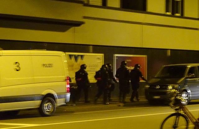 Am Mittwochmorgen rückten Einsatzkräfte der Polizei aus um die Räumung zu vollziehen.