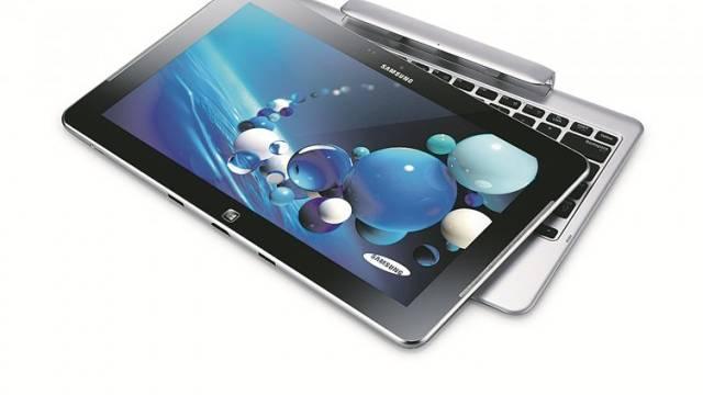 Notebook und Tablet in einem: An der Elektronikmesse Ifa in Berlin standen ultradünne OLED-Fernseher im Zentrum.