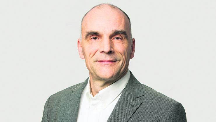 Entwickelte eine digitale Datenexpertin für die Energieversorgung: Prof. Dr. Stefan Gürtler.  Foto: FHNW