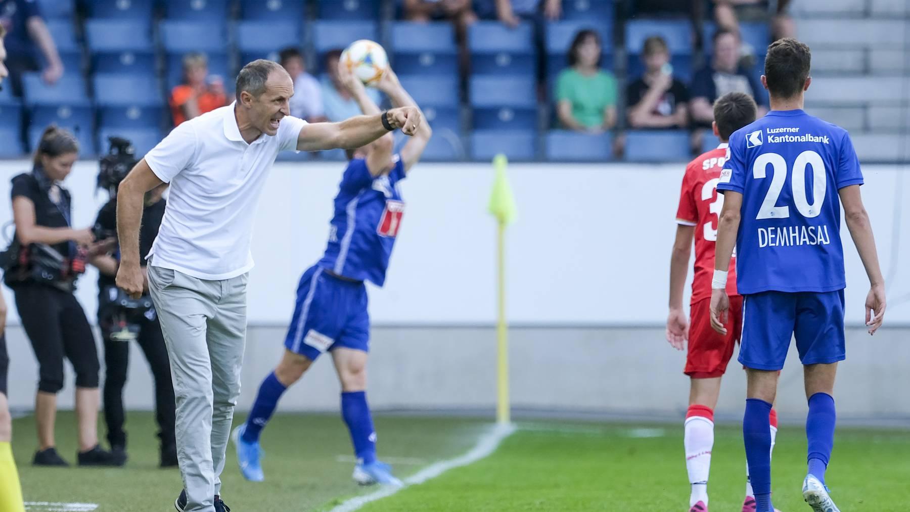FC Luzern verliert gegen Thun 0:2
