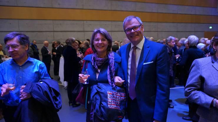 Stadtpraesident Otto Mueller freut sich aufs 2017