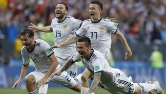 WM 2018: Impressionen vom Achtelfinal zwischen Spanien und Russland