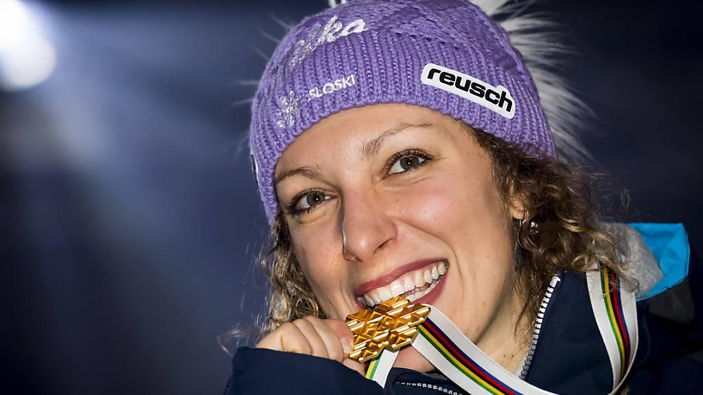 Ilka Stuhec sicherte sich bei den letzten zwei Weltmeisterschaften den Titel in der Abfahrt