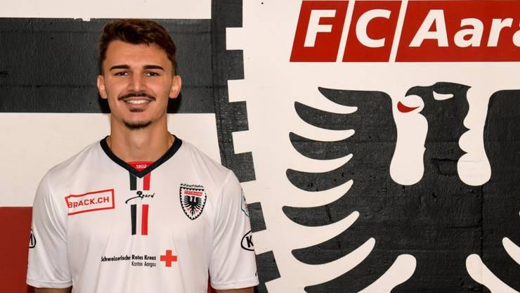 Arijan Qollaku, seit dem 2. Spieltag im Kader des FC Aarau