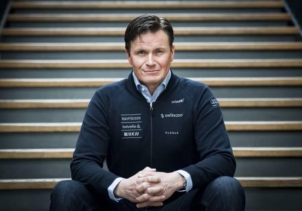 Urs Lehmann, Präsident Swiss Ski.