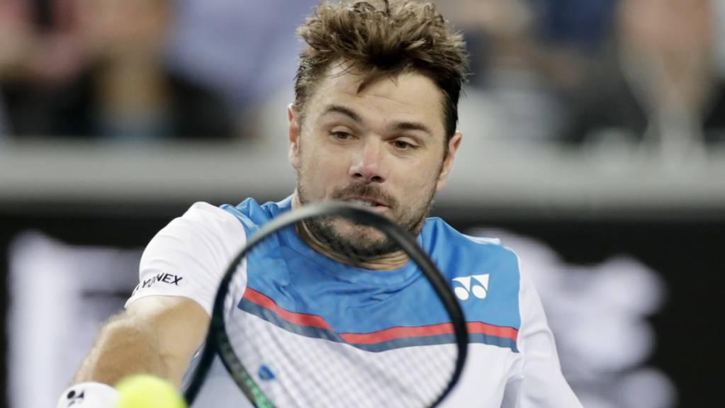Stan Wawrinka steht erstmals seit 2017 wieder in der 3. Runde am Australian Open.