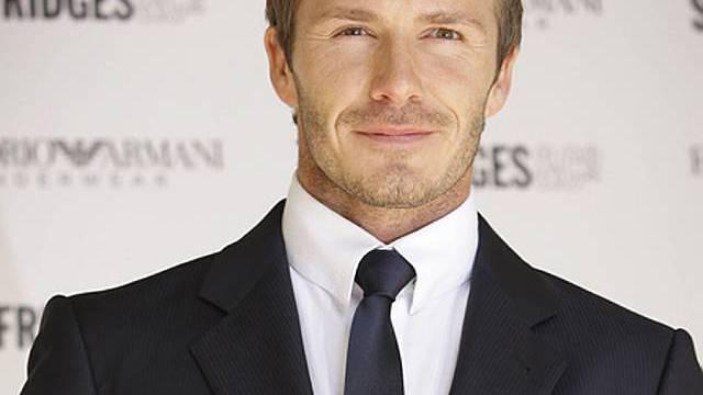 David Beckham mag Tom Cruise (Archiv)