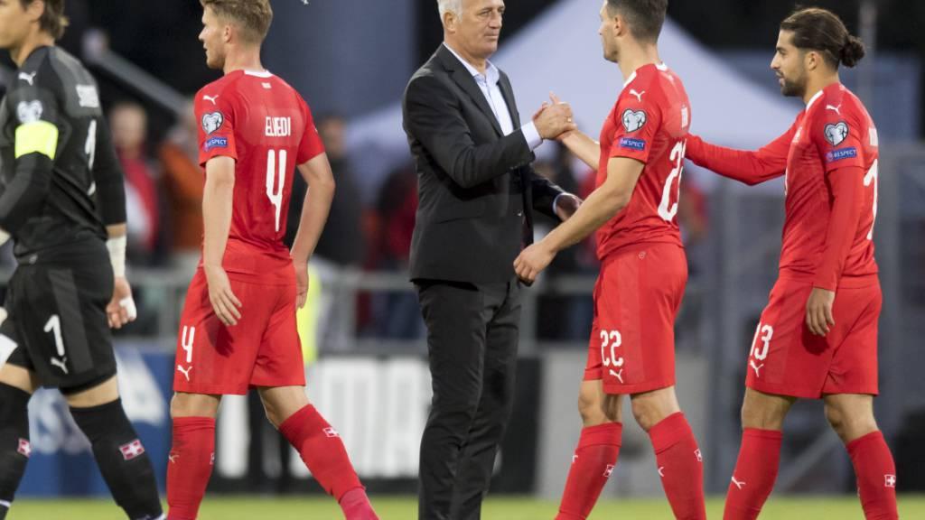 Vladimir Petkovic ist mit seinem Team zufrieden