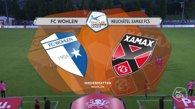 Die kompletten Highlights der Partie FC Wohlen - Neuchâtel Xamax vom 09.08.2017