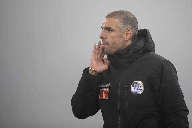 Fabio Celestini ist erfolgreich in sein Abenteuer mit dem FC Luzern gestartet.