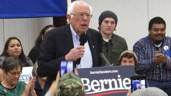 Bernie Sanders ist ob der wachsenden Einkommensschere besorgt – und plant dagegen vorzugehen.