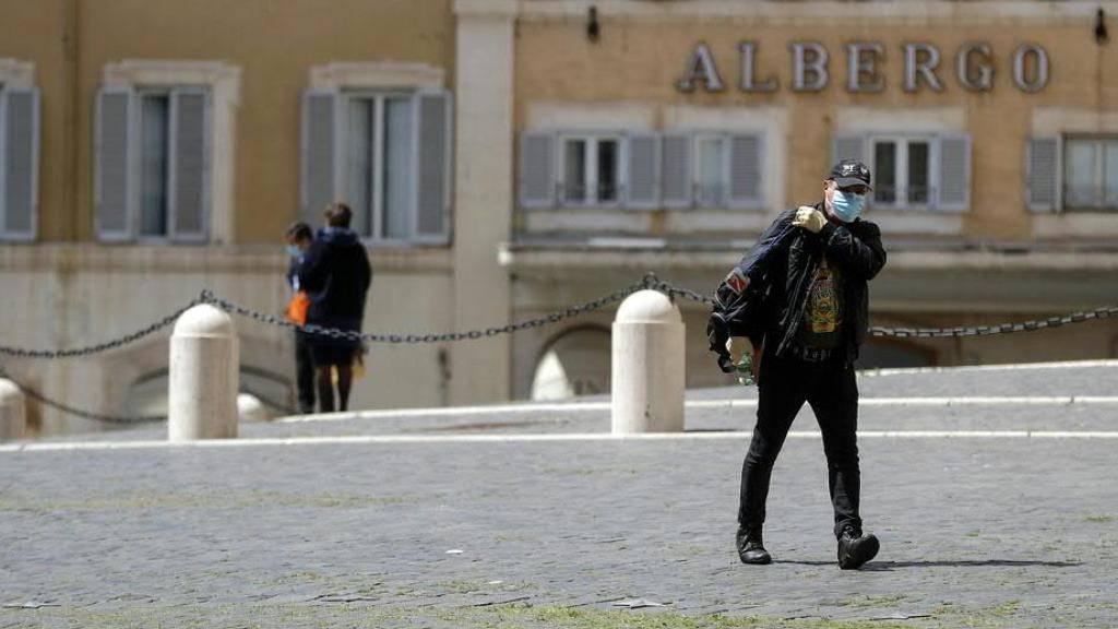 Regierung in Rom beschliesst Einsatz von Corona-App