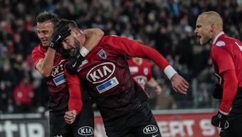 Bildergalerie FC Aarau - Servette FC (1.3.19)