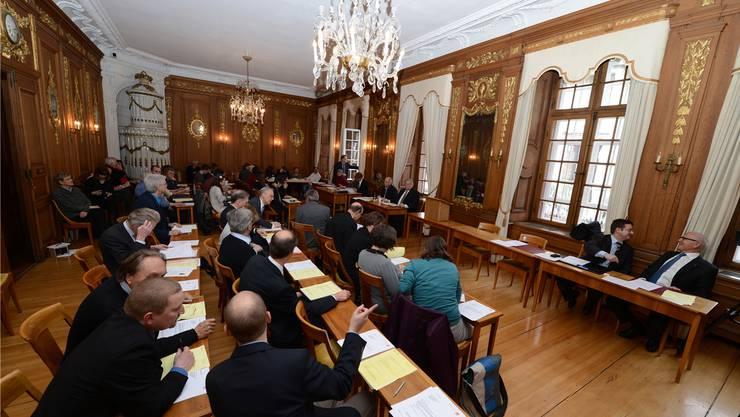 Neue Präsidentin des Bürgergemeinderats ist Marina Schai (CVP), als neuer Präsident des Bürgerrats nahm Lukas Faesch (LDP) sein Amt an. (Archivbild) Juri Junkov/Archiv