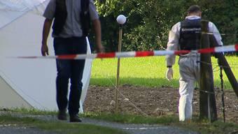 Die Tat geschah 2015 auf offenem Feld im Gebiet Lochermoos unweit des Einfamilienhauses des Opfers.