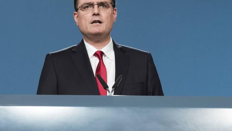 Stellt für 2015 rote Zahlen vor: Nationalbankpräsident Thomas Jordan. (Archiv)