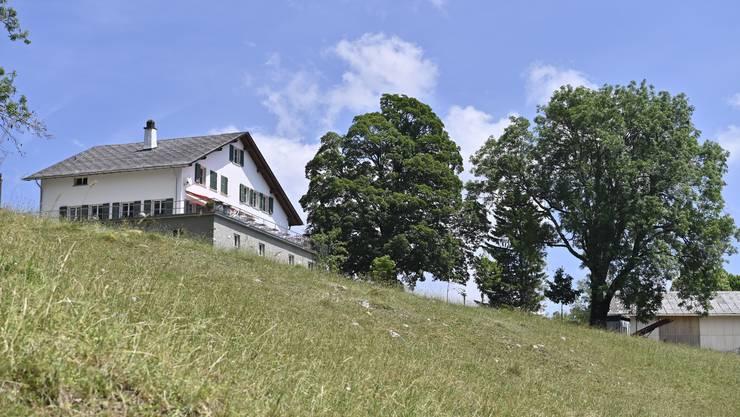 Wegen gesperrter Bergstrasse läuft gar nix mehr auf dem Berg Im Bild: Stierenberg
