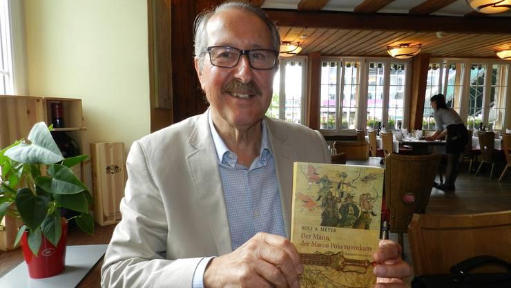 Der Wohler Rolf A. Meyer tritt mit seinem Roman zum ersten Mal auf die literarische Bühne.