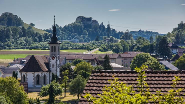 Othmarsingen - Kirche Dorfbild Othmarsingen