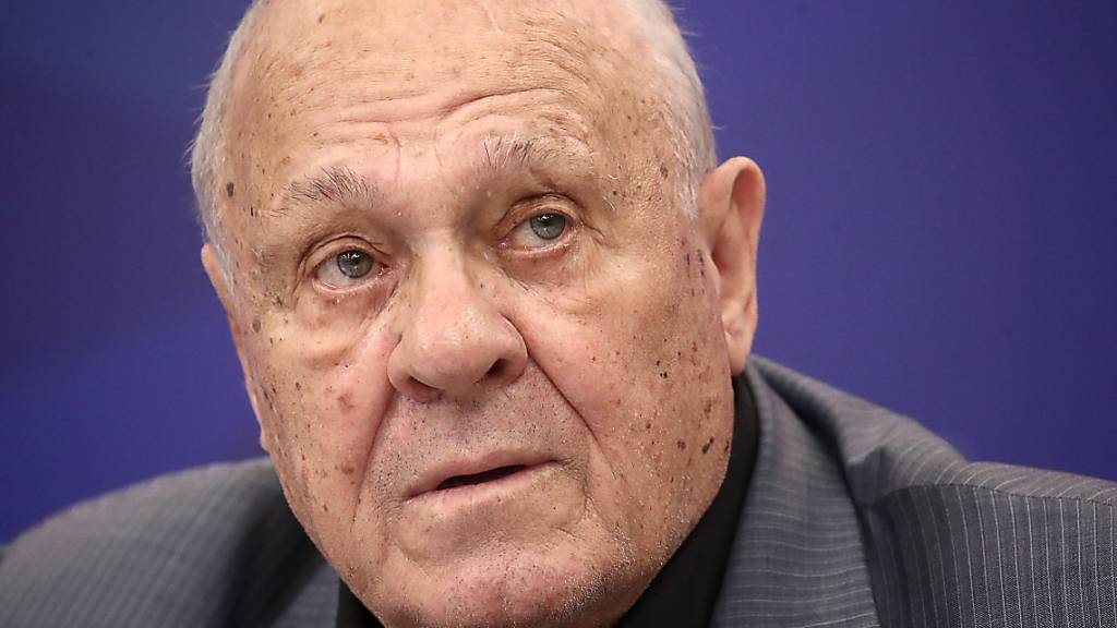 MOSCOW, RUSSIA - SEPTEMBER 11, 2019: Russian film director Vladimir Menshov during a meet-and-greet session marking his 80th birthday at the offices of the Rossiya Segodnya news agency. Valery Sharifulin/TASS