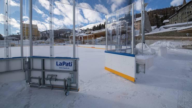 Werden von Präsident René Fasel eingefordert: Kleinere Eisfelder.