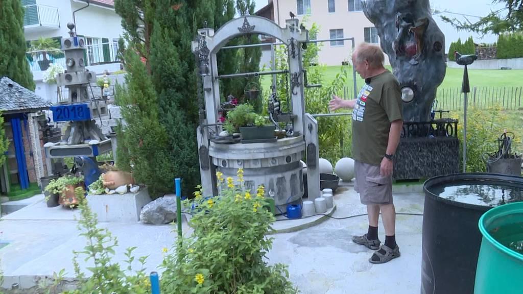 Flohmarktfan und Bastler: «Im Garten könnte es einem schwindlig werden»