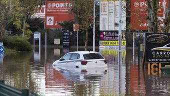 Überschwemmung in Südfrankreich (2.12.2019)