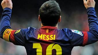 Lionel Messi schiesst zwei Tore und Barcelona gewinnt (Archiv).