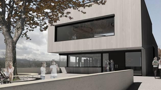 Das Neubauprojekt für das Schulhaus.