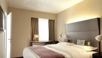 Warme Zimmerfarben und Designer-Möbel sind im Hotel D. angesagt.