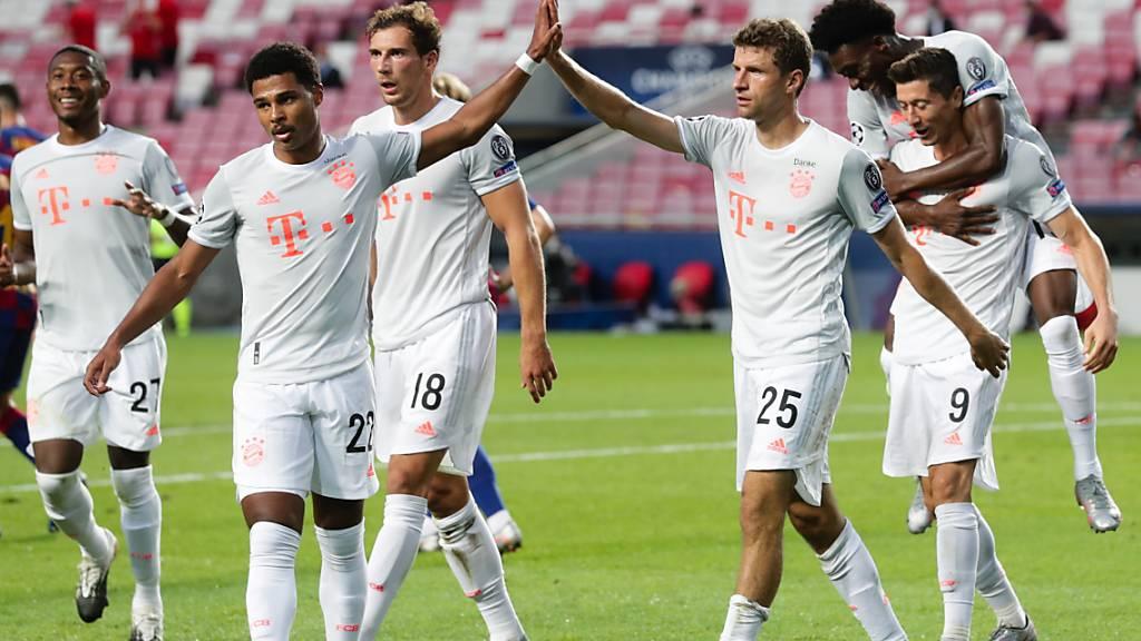 Barças Debakel: Bayern führte schon nach 30 Minuten mit 4:1