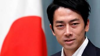 Shinjiro Koizum, 38, ist seit Mittwoch japanischer Umweltminister.