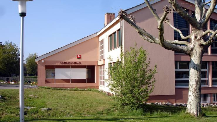 Das Gemeindehaus von Boniswil. (Bild: Fritz Thut)